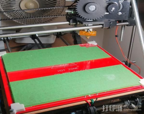 打印机角托 3D模型  图3