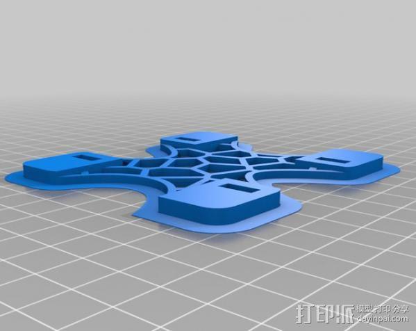 replicator 2/2X打印机排气式挤出机 3D模型  图12