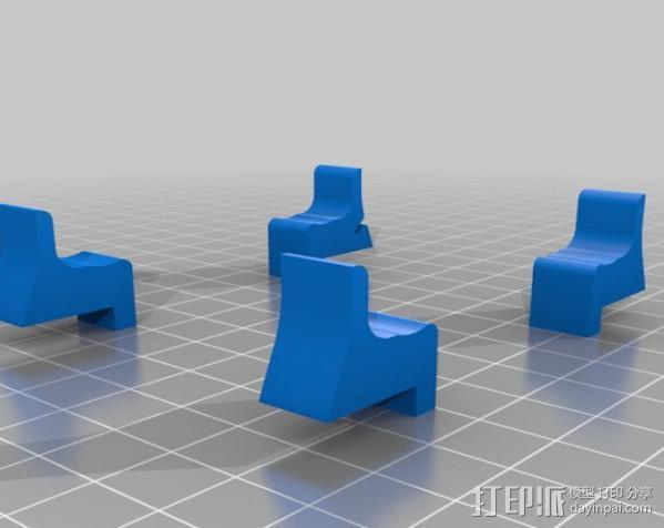 replicator 2/2X打印机排气式挤出机 3D模型  图11