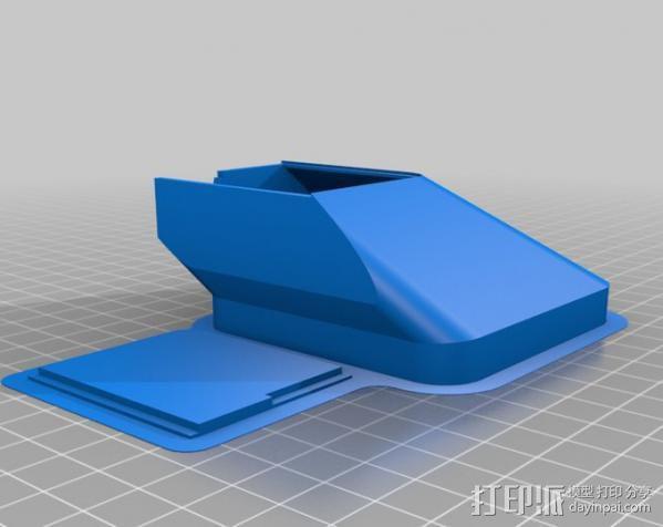 replicator 2/2X打印机排气式挤出机 3D模型  图13