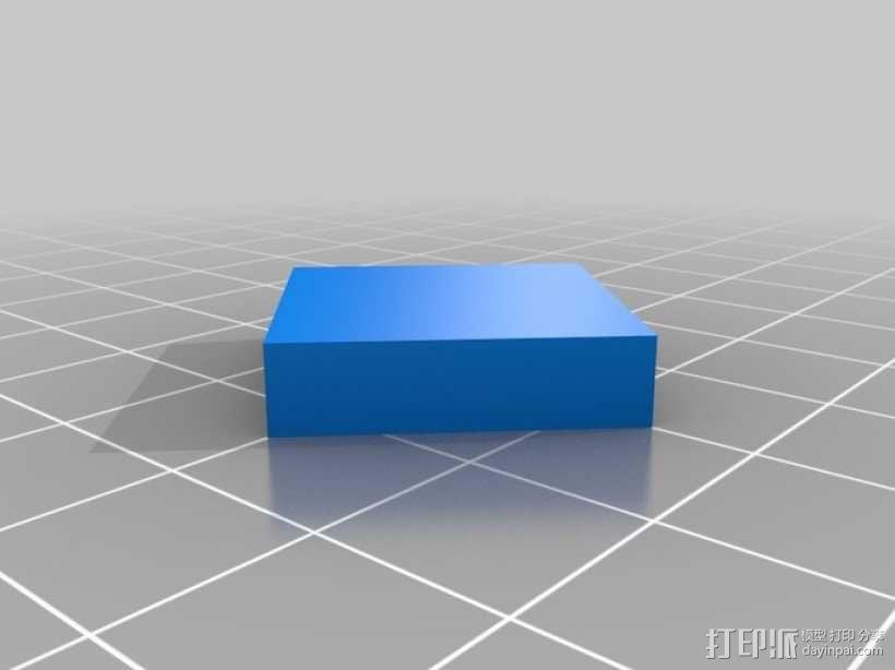 双挤出机打印测试 3D模型  图2