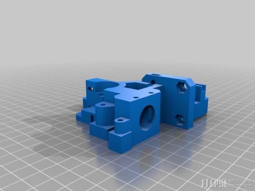 Prusa i3挤出机 3D模型  图2