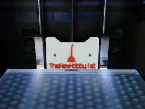 Replicator 打印机标签 3D模型