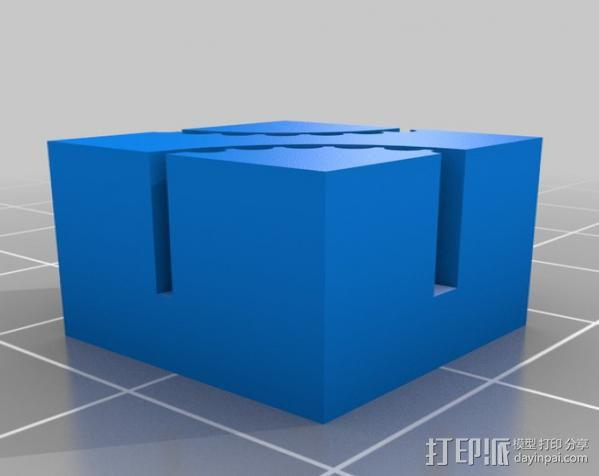皮带夹 3D模型  图2