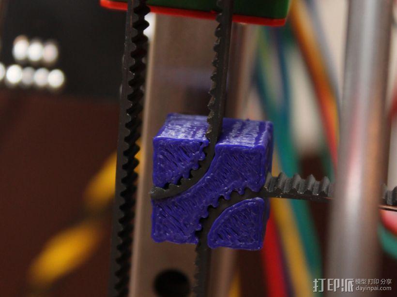 皮带夹 3D模型  图1