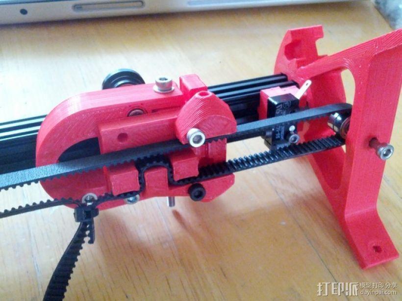 Kossel Mini打印机 3D模型  图2