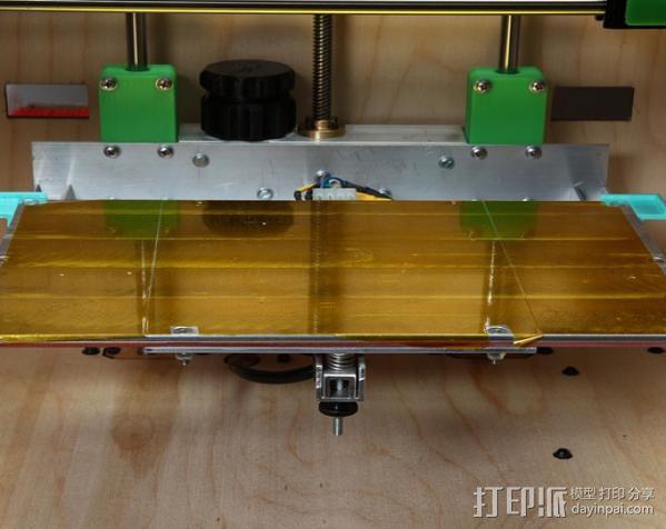 Makerbot Replicator打印机打印床支撑架 3D模型  图2