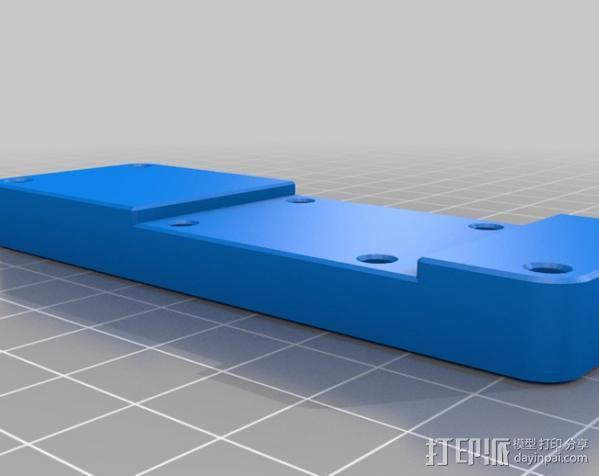 Makerbot Replicator打印机打印床支撑架 3D模型  图5