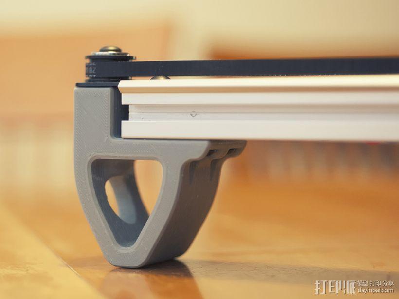 打印机前脚稳定器 3D模型  图1