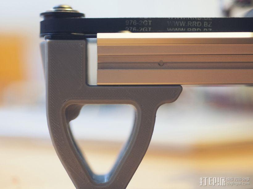 打印机前脚稳定器 3D模型  图3