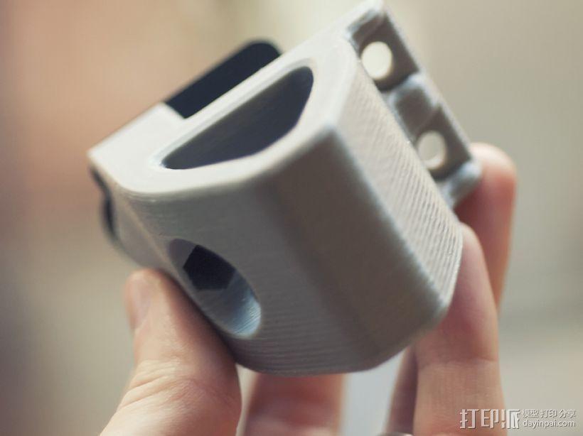 打印机前脚稳定器 3D模型  图5