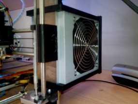 prusa i3 打印机电源保护罩 3D模型