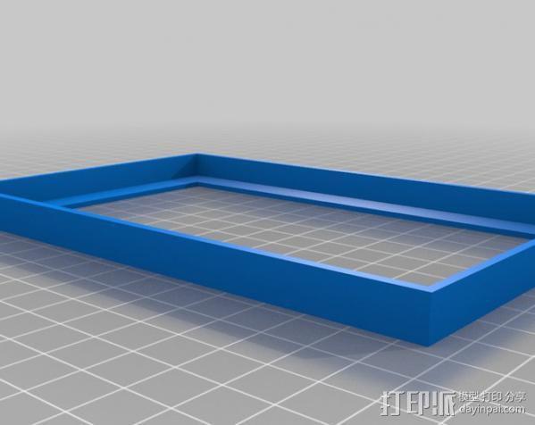 prusa i3 打印机电源保护罩 3D模型  图3