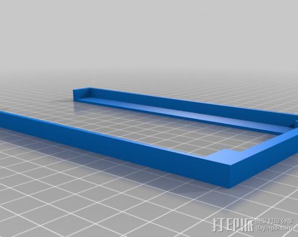 prusa i3 打印机电源保护罩 3D模型  图5