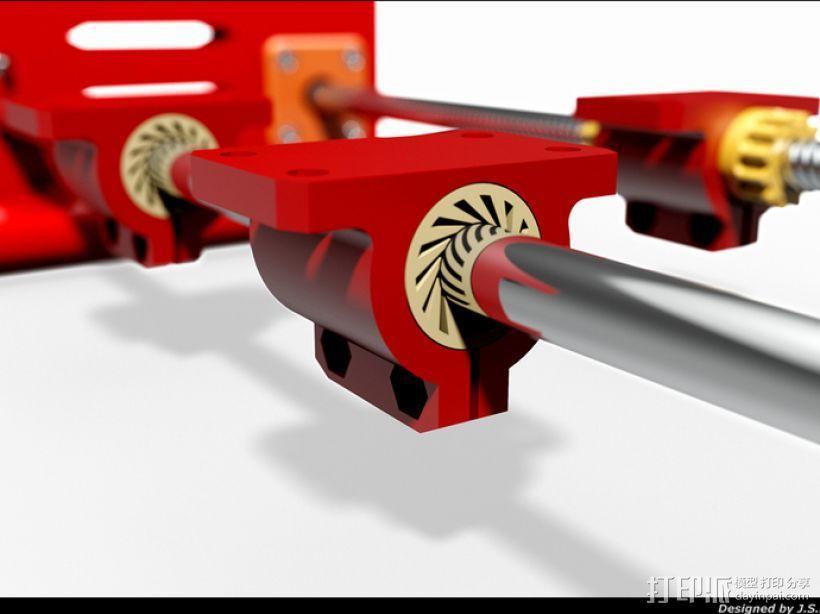 轴承架 3D模型  图1