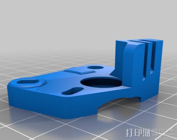 Replicator 2X挤出机 3D模型  图4