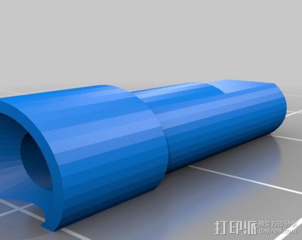 Replicator 2X挤出机 3D模型  图5