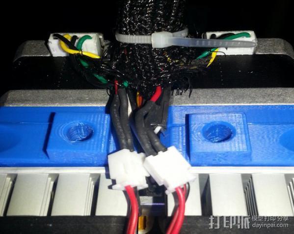 Replicator 2X挤出机 3D模型  图8