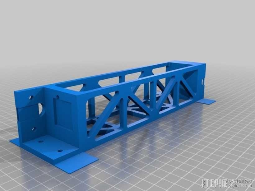 Replicator 2打印机顶部线轴架 3D模型  图2
