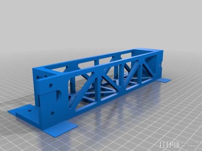 Replicator 2打印机顶部线轴架 3D模型  图3