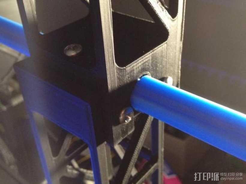 Replicator 2打印机顶部线轴架 3D模型  图5