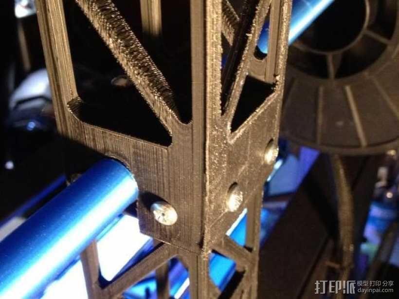 Replicator 2打印机顶部线轴架 3D模型  图6