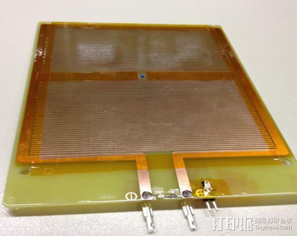 Printrbot打印机铝制打印床 3D模型  图3
