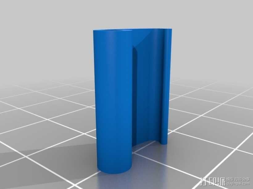 打印床固定夹 3D模型  图2