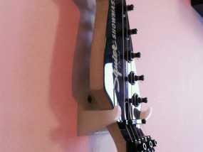壁挂式吉他支架 3D模型