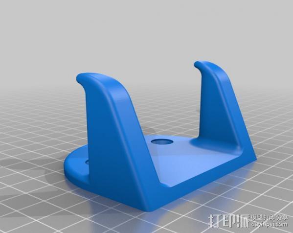 壁挂式吉他支架 3D模型  图5