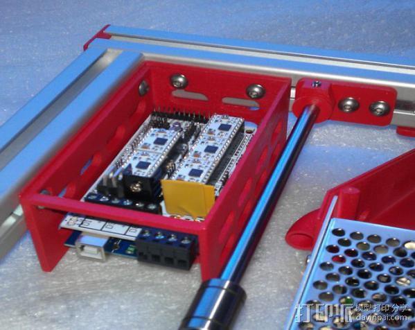 电路板保护外盒 3D模型  图3