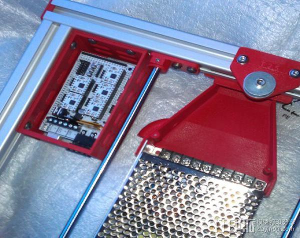电路板保护外盒 3D模型  图4
