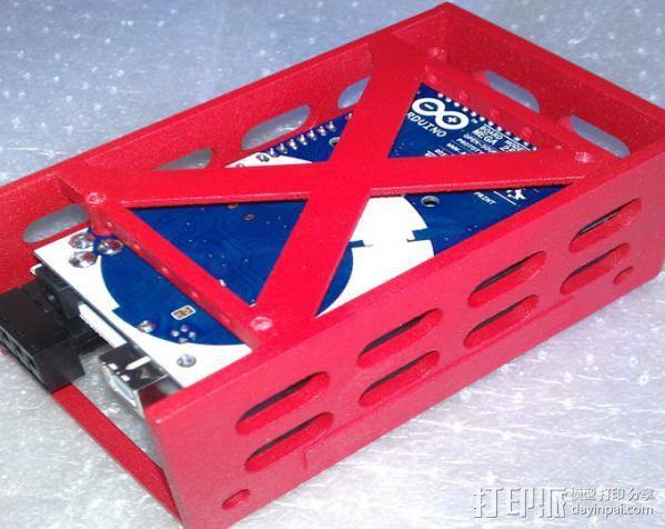 电路板保护外盒 3D模型  图2