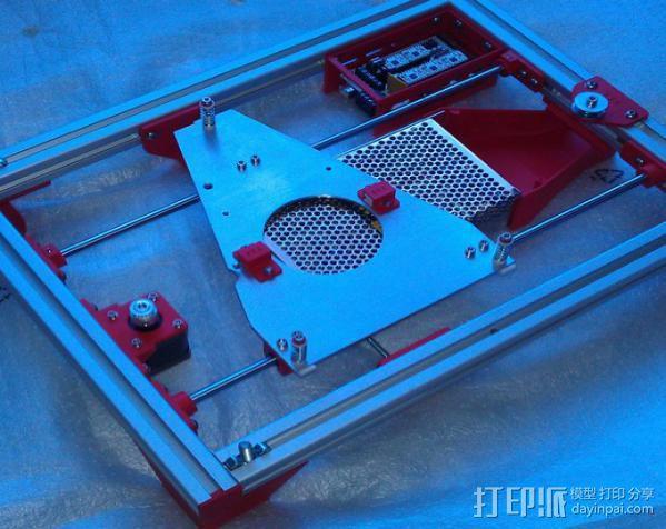 电路板保护外盒 3D模型  图6