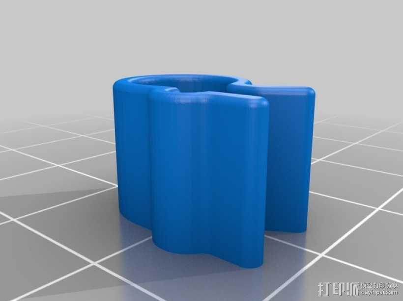 线材夹 3D模型  图5