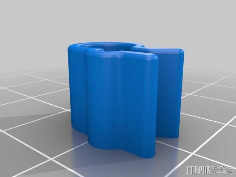 线材夹 3D模型  图6