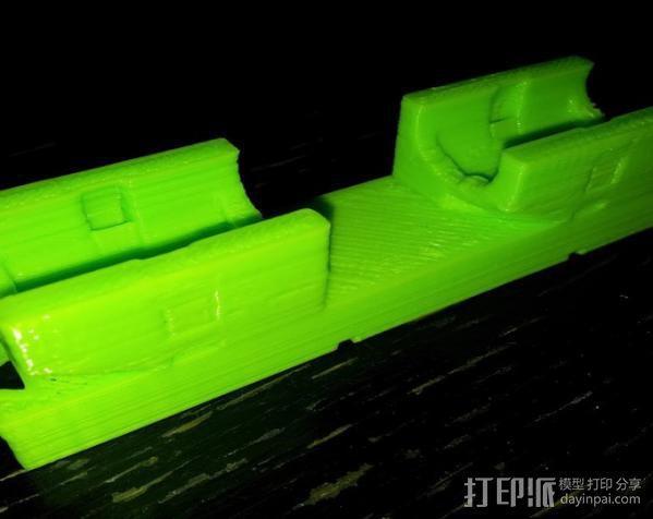 Mendel 门德尔打印机打印床框架 3D模型  图5