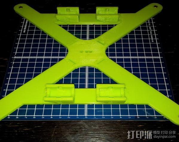Mendel 门德尔打印机打印床框架 3D模型  图12