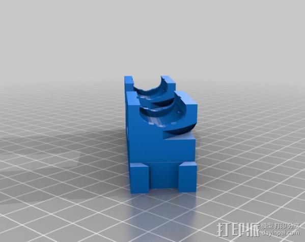 Mendel 门德尔打印机打印床框架 3D模型  图15