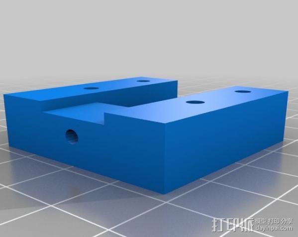 Mendel 门德尔打印机打印床框架 3D模型  图17