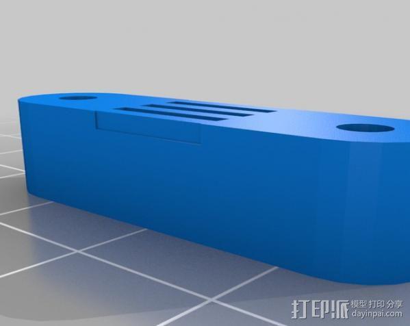 Mendel 门德尔打印机打印床框架 3D模型  图20