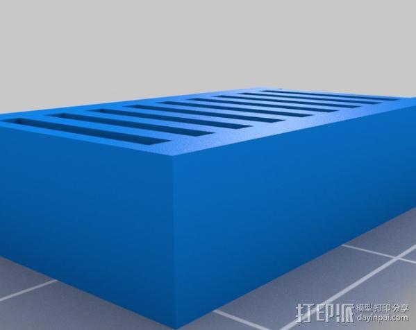 Mendel 门德尔打印机打印床框架 3D模型  图19