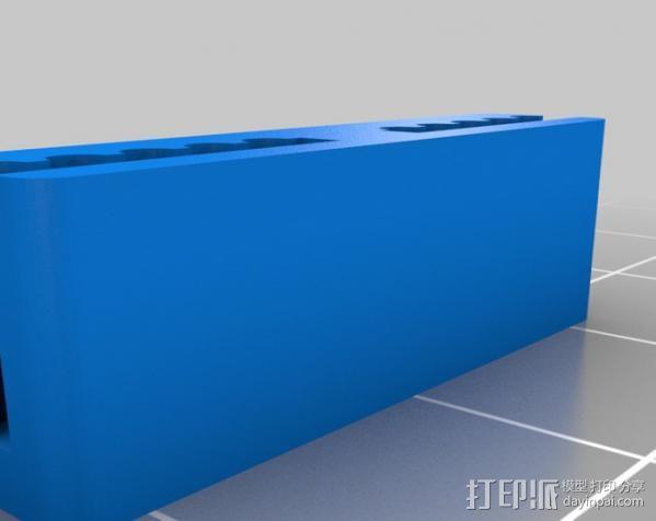 皮带耦合器 3D模型  图2