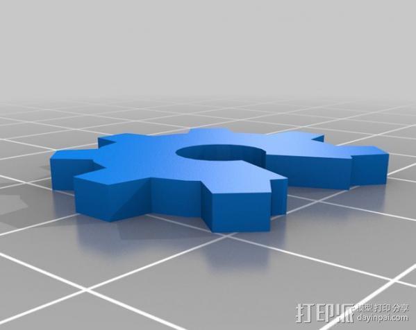 Prusa i3打印机外框 3D模型  图6