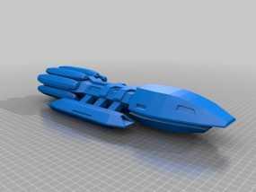 战舰 星际战舰 3D模型