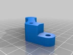 鲍登挤出机 3D模型