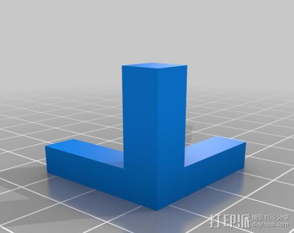 角度校准器 3D模型  图2