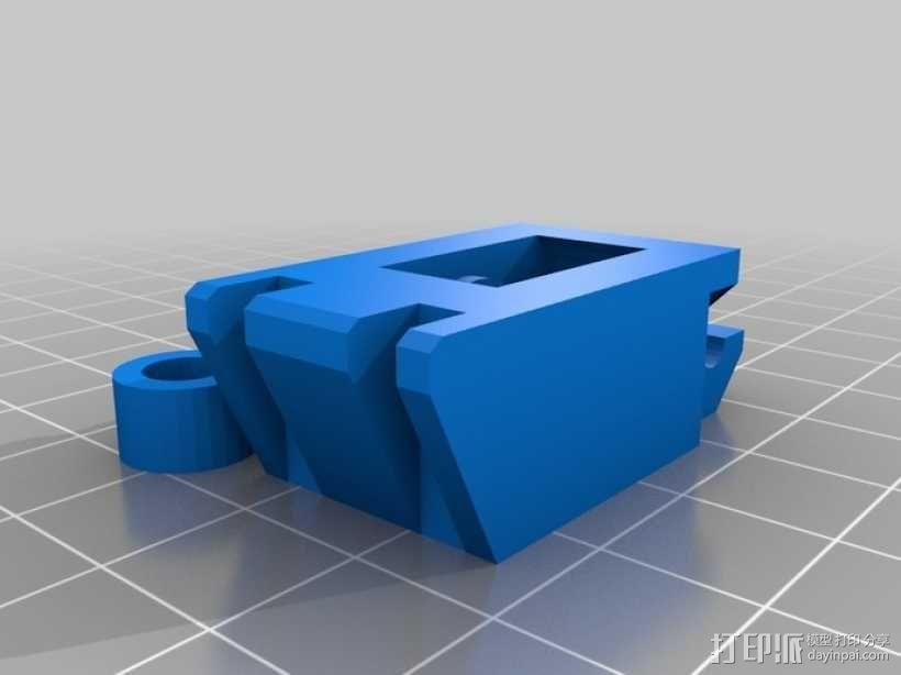 鲍登挤出机 3D模型  图4