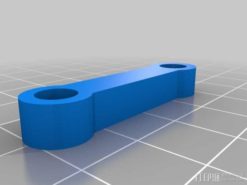 鲍登挤出机 3D模型  图9