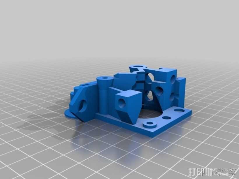 鲍登挤出机 3D模型  图7
